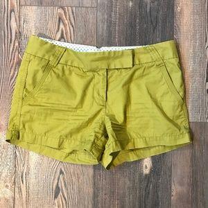 J. Crew Classic Twill Chino City Fit Shorts